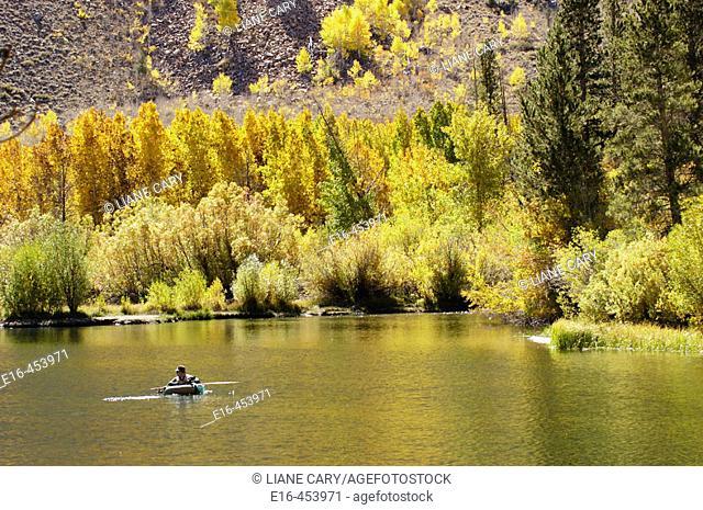autumn fisherman