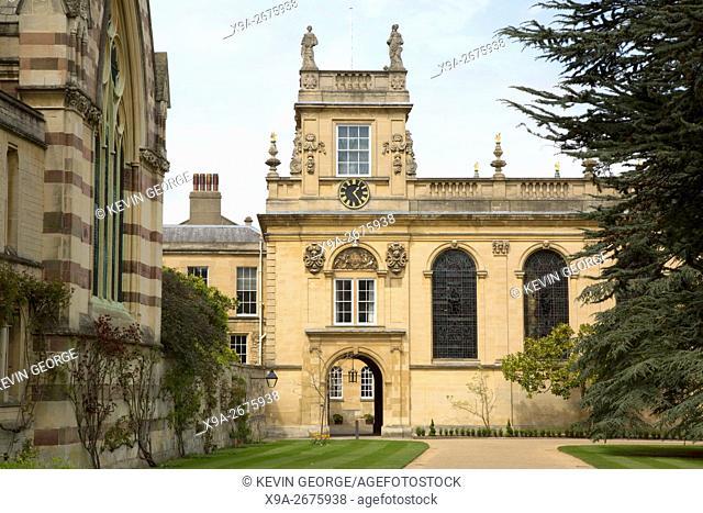 Trinity College, Oxford University, England, UK