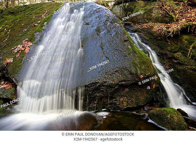 A Unnamed brook in the area of Mount Cilley in Woodstock, New Hampshire USA