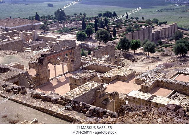 Medina az-Zahra/ Überblick Ausgrabungsstätte
