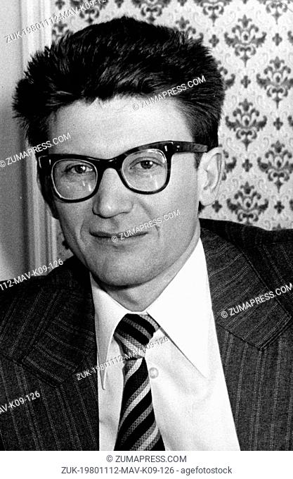 Nov 12, 1980; Paris, France; The Soviet historian, ANDRE AMALRIK, 42 year old, died last night in a car accident at 40 kilometers North East of Madrid