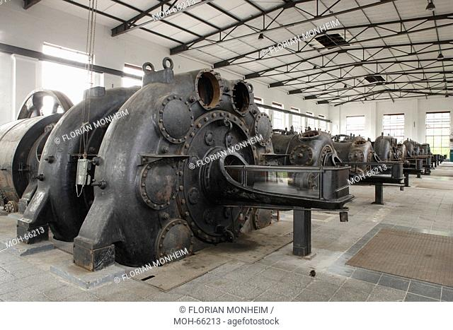 Maschinenhalle, Kompressor
