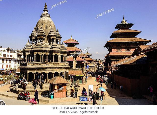 Durbar Square, Kathmandu Patan, Nepal, Asia