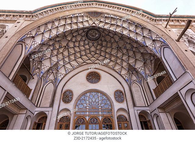 Khan-e Ameriha palace, Kashan, Iran