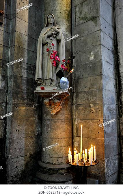 Abbey Church Brantome Perigord France