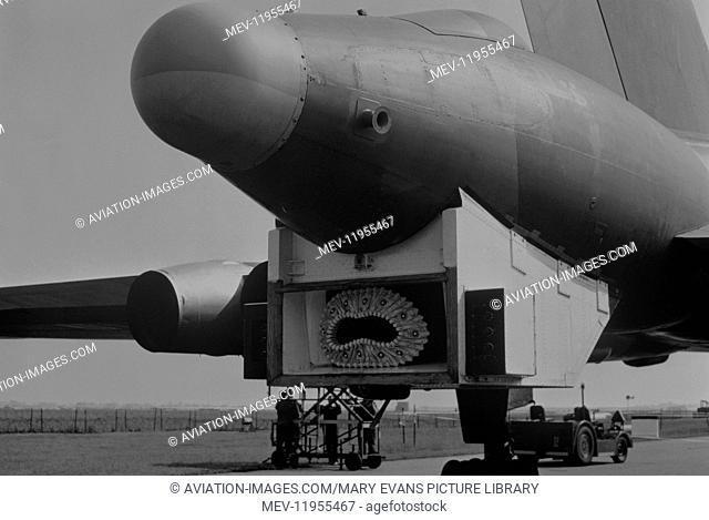 RAF Avro 698 Vulcan B-2 During the Falklands War Rear Modification for Aerial-Refuelling Hose