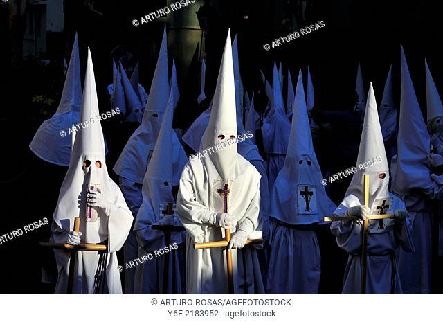 Good Friday procession. San Lorenzo de El Escorial, Madrid. Spain