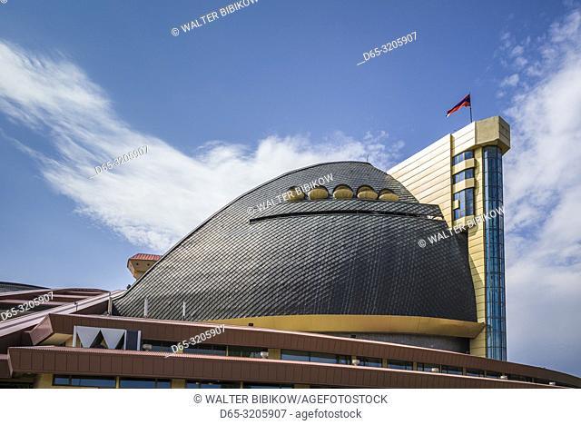 Armenia, Yerevan, After Karen Demirtchian Sport and Concert Complex, exterior