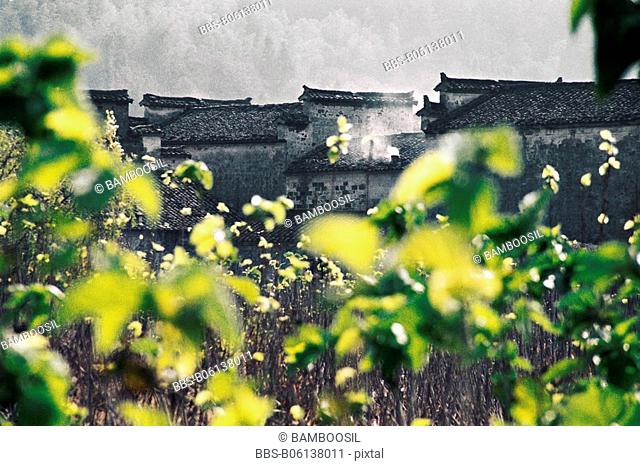 Ancient Residence in Tachuan Village, Yixian County, Anhui Province, People's Republic of China