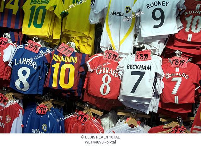 Football shirts