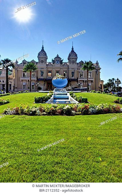 Casino of Monaco, Place du Casino, Monte Carlo, Principality of Monaco, Europe, PublicGround