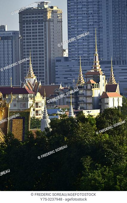 Royal Palace,Phnom Penh,Cambodia,South east Asia