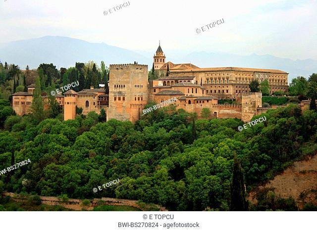 Alhambra, Spain, Andalusia, Granada