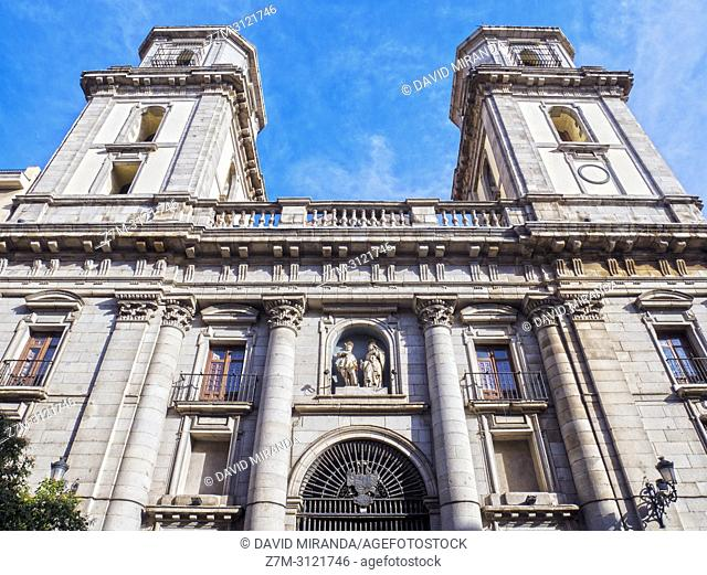 Colegiata de San Isidro. Madrid, Spain