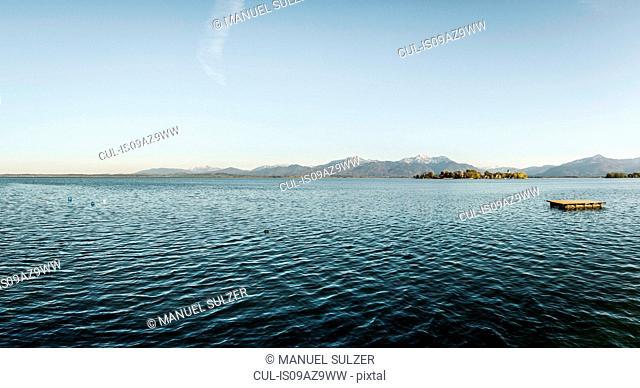 Lake view, Rosenheim, Bavaria, Germany