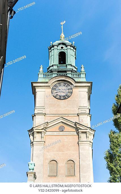 Storkyrkan in gamla stan (old town) Stockholm, Sweden