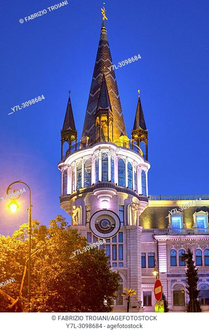 Batumi astronomical clock, Batumi, Georgia