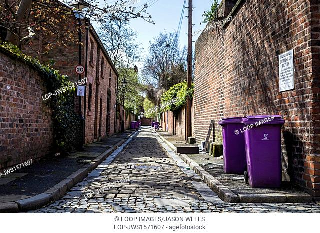 Little Huskisson Street in Liverpool