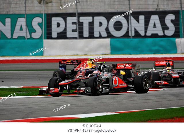 Jenson Button GBR, Malaysian Grand Prix, Sepang, Malaysia