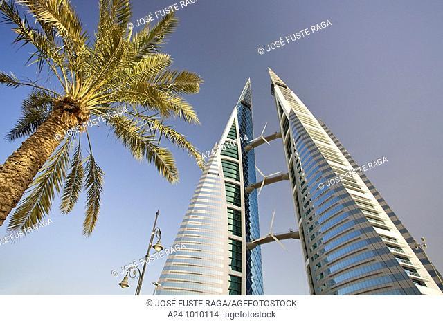 World Trade Center buildings, Manama, Bahrain