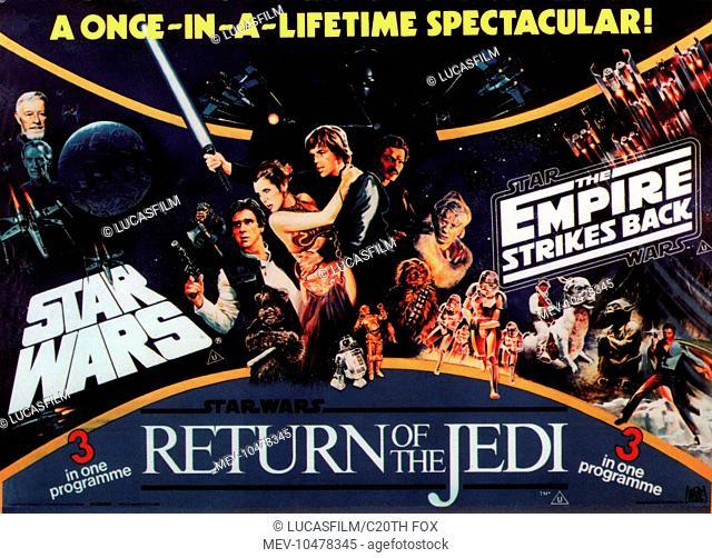 STAR WARS TRILOGY STAR WARS: EPISODE IV - A NEW HOPE STAR WARS: EPISODE V - THE EMPIRE STRIKES BACK STAR WARS: EPISODE VI - RETURN OF THE JEDI [US 1983]