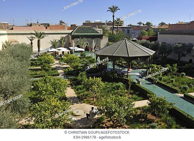 Jardin Secret, medina, , Marrakesh, Morocco, North Africa
