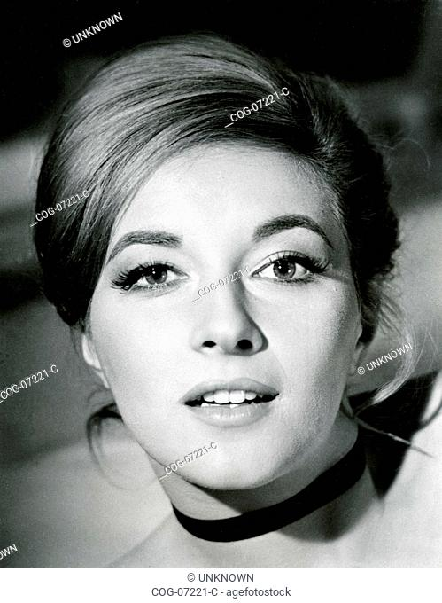 The actress Daniela Bianchi in a scene from the film James Bond 007 - From Russia with Love, UK