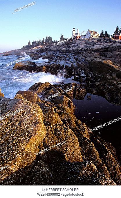 USA ,Pemaquid Point, Maine