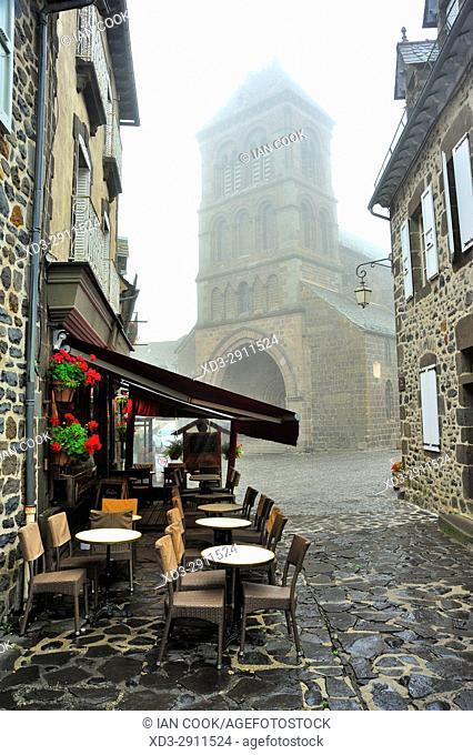Church of Saint-Mathieu, Salers, Cantal Department, Auvergne, France
