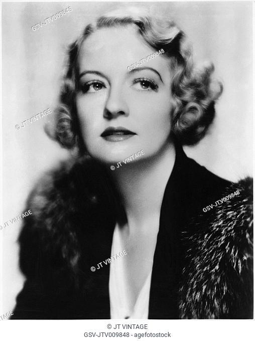 Doris Kenyon, Publicity Portrrait, 1930's
