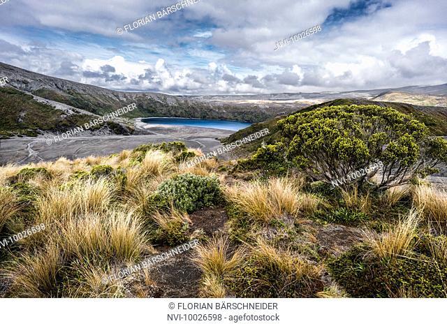 Crater Lake, Tongariro National Park, New Zealand