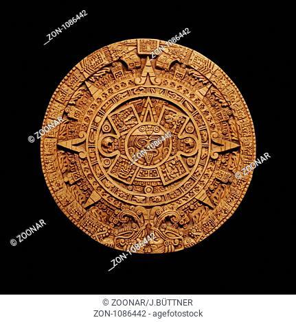 Aztec Sun God Stock Photos And Images Age Fotostock