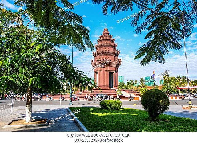 The Independence Monument, Phnom Penh, Cambodia