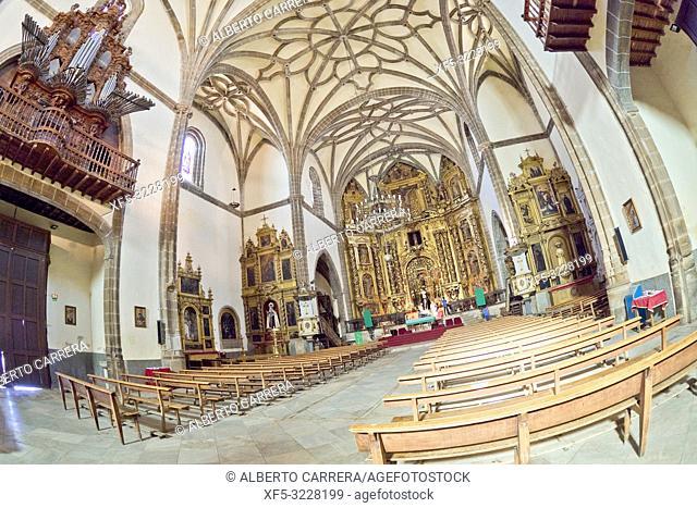 Iglesia Convento del Rosario, Church Convent of Rosario, Convento de la Encarnación y Mina, Zafra, Badajoz, Extremadura, Spain, Europe