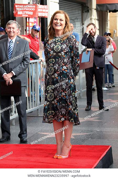Amy Poehler honored with a star on the Hollywood Walk Of Fame Featuring: Amy Poehler Where: Hollywood, California, United States When: 03 Dec 2015 Credit:...