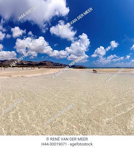 Elafonissi beach, Ayios Pandeleimon, Greece