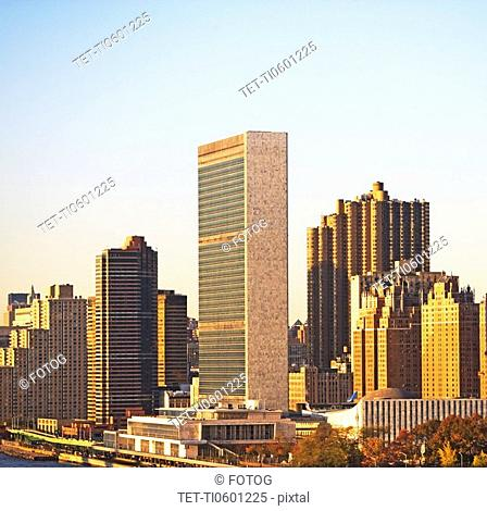 United Nations Headquarters building, New York City