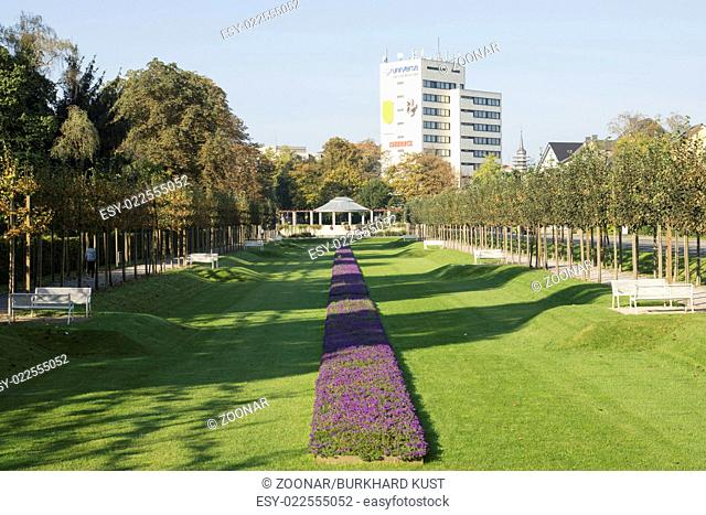 East-circle-park in Hamm, Germany