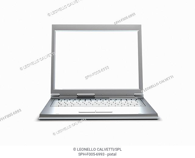 Laptop computer, computer artwork
