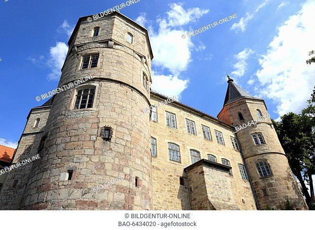 castle Bertholdsburg at Schleusingen, Thuringia, Germany