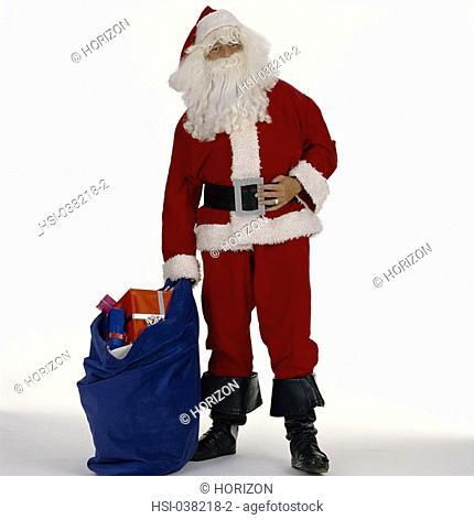 Lifestyle, Occasion, Christmas, Man, Santa Claus Father Christmas