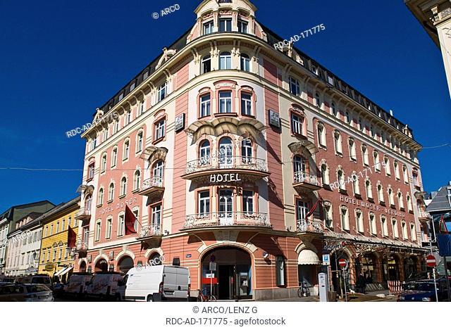 Hotel Moser-Verdino, Klagenfurt, Carinthia, Austria