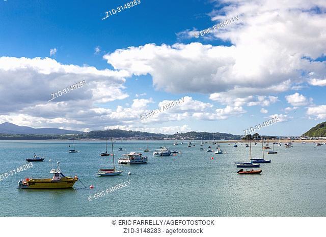 Waterfront at Beaumaris Anglesey North Wales UK