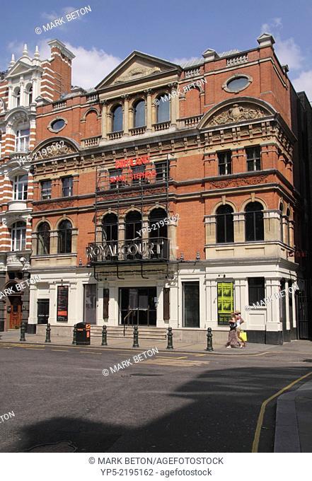 Royal Court Theatre Sloane Square Chelsea London