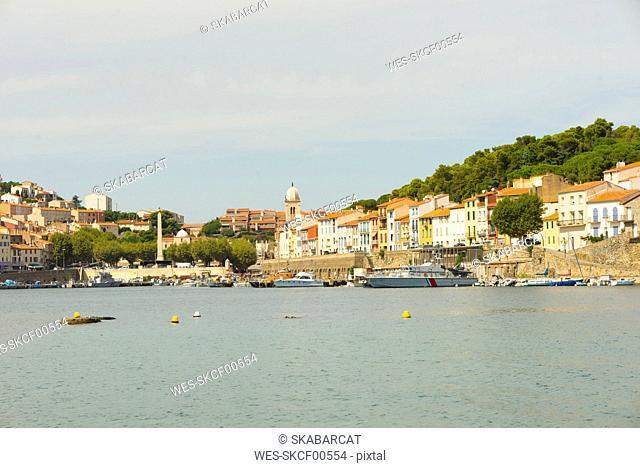 France, Pyrenees-Orientales, Port-Vendres, Fishing harbour