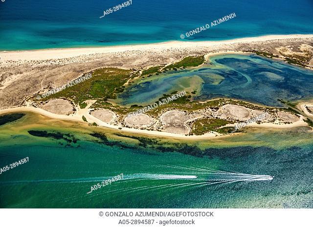 Ilha da Fuzeta island.Ria Formosa, natural park. Faro district. Algarve. Portugal