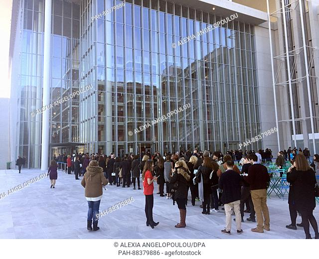 The new Stavros Niarchos Foundation Cultural Centre (SNFCC) in Athens, Greece, 23 February 2017. The centre cost around 600 million euros and was designed by...