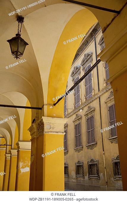 Italy, Emilia Romagna, Modena, Archways & Architecture
