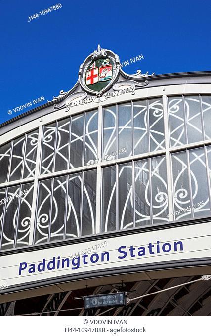 England, London, Paddington Station