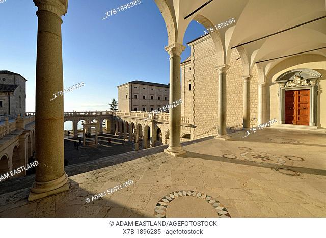 Cassino  Italy  The Abbey of Monte Cassino